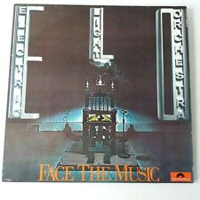 ELO - Face the Music - Vinyl LP + Insert German 1st Press 1975 EX+/NM