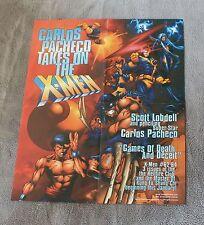 X-Men #62-64 1996 Pacheco Lobdell Hellfire Club Shang-Chi Marvel PROMO Poster FN
