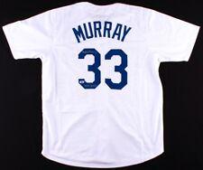 "Eddie Murray Signed Dodgers Jersey Inscribed ""HOF 2003"" (Beckett) 500 H.R. Club"