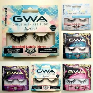 GWA COLLECTION  FALSE EYELASHES MYTHICAL FAIRY NATURAL GLAMOUR EYE LASHES