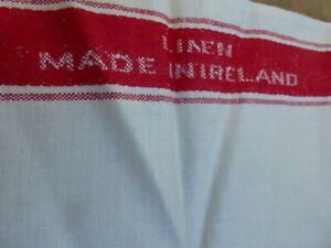 VINTAGE, RETRO, IRISH LINEN TEA CLOTH, TOWEL