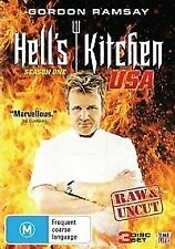 HELL'S KITCHEN USA : SEASON 1 (GORDON RAMSAY) - 3 DVD SET - BRAND NEW!! SEALED!!