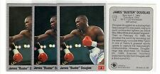 1X JAMES Buster DOUGLAS 1991 All World Boxing #13 Lots Available IBF WBC
