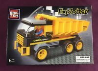Brictek Exploiter Construction Dump Truck 142 Pcs J5681A Brand New Sealed Box