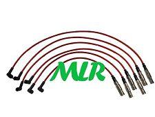 FORD GALAXY 2.8 VR6 verteilerlose rot 8mm Silikon Zündungs HT Leitungen MLR