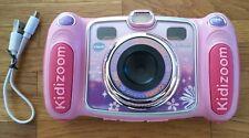 VTech Digitalkamera Kidizoom Duo pink Kinder Kamera Spielzeug Set (80-170854)