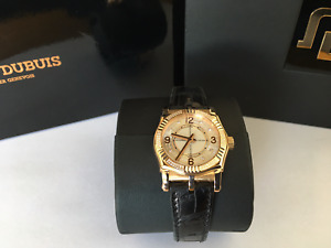 Limited 28pcs 18k Rose Gold ROGER DUBUIS Sympathie SY34 Automatic Luxury Watch