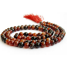 8mm Tibet Buddhist 108 Dream Agate Prayer Beads Mala Necklace