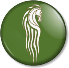 "Rohan Kingdom Horse 1"" Pin Button Badge Hobbit JRR Tolkien Lord Of The Rings (1)"