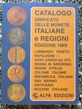 CATALOGO UNIFICATO DELLE MONETE ITALIANE E REGIONI 1999 ALFA ED. A12