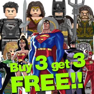 █ Buy 2 Get 1 Free █ - Superman Batman MOC Kids Gift Toys