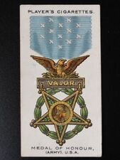 No.30 MEDAL OF HONOUR Army U.S.A. War Decorations & Medals PLAYERS 1927