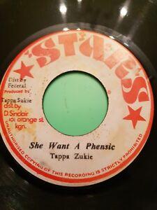 "SHE WANT A PHENSIC TAPPA ZUKIE  (7"" 45-Vinyl)"