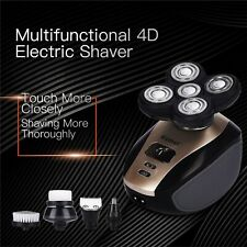 2019 New 5 In 1 Men's 4D Rotary Electric Shaver Multifunction Beard Trimmer