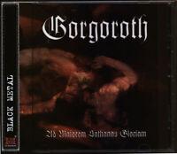 GORGOROTH Ad Majorem Sathanas Gloriam NEW CD (Black Metal) mayhem marduk urgehal