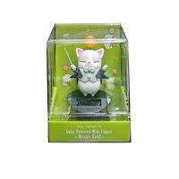 Final Fantasy XIV Moogle Music Corps Conductor Mini Solar Figure  NEW