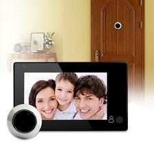 "4.3"" LCD Digital Door Peephole Peep Hole Doorbell Viewer Camera Monitor Video"