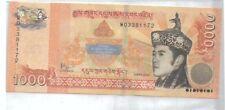 Bhutan Commemorative Banknote UNC 2016 1000 Ngultrum