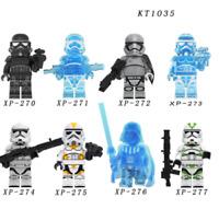 8 Pcs Minifigures Stormtrooper - Star War 9 Skywalker The Mandalorian Lego MOC
