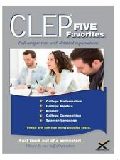 CLEP FIVE FAVORITES - WYNNE, SHARON A. - NEW PAPERBACK BOOK