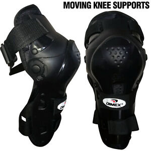 Racing Motorcycle MTB Knee Guard Shin Moving Pads Skating Protector Gear Dimex
