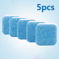 5pcs Washing Machine Cleaner Antibacterial Tub Bomb Clean Residue Detergent
