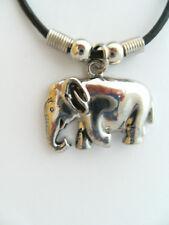 Kette Elefant  3,5cm Ketten Modeschmuck Anhänger Elefanten Afrika Edelstahl neu