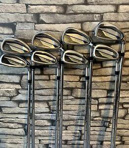 Wilson D9 Golf irons 5-SW inc GW 8 Clubs KBS 105 Shafts Full Cord Grips D7/SIM