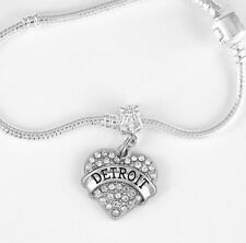 Detroit Bracelet Huge sale Detroit Gift Bangle Motown Present Detroit charm
