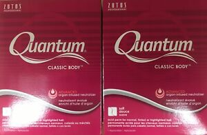 2 Pk Perms by Quantum Classic Body Acid Perm for Normal-tinted-highlighted Hair