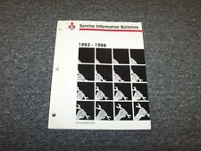 1993-1998 Mitsubishi Models FE FG FH FK FM FE434 FH100 Service Bulletin Manual