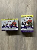 2017-18 UD CHL Hockey Sealed Blaster Box Lafreniere RED AUTO Star Rookie RC??