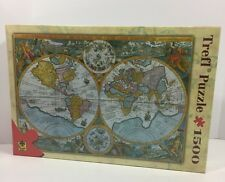 Trefl Jigsaw Puzzle 1000 Pc Picture World Map of 1594 New Sealed