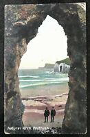Natural Arch Portrush Postcard Northern Ireland Pepper & Co Portrush.