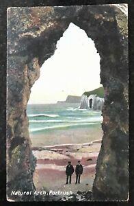 Natural Arch Portrush Postcard Northern Ireland Pepper & Co Portrush.