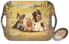 Souvenir Yorkshire Terrier, Biewer, new serving tray, design dog