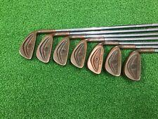 RARE Dunlop Golf TOUR SPECIAL Beryllium Copper Iron Set 3-9 Right Steel REGULAR