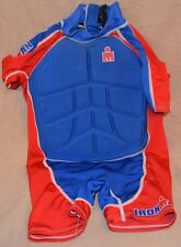 Ironman Sparing Gear MMA Martial Arts Boxing Fighting Chest Gaurd Kids Size S