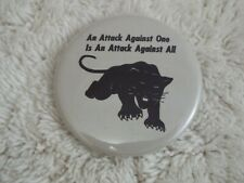 """New listing An Attack Against One Is An Attack Against All ~ 2-1/4"""" Button Pinback Pin (B53)"""