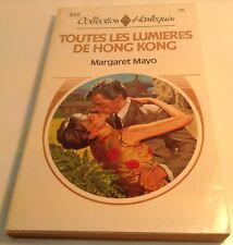 Book in French TOUTES LUMIERES DE HONG KONG Livre en Francais collection HARLEQU