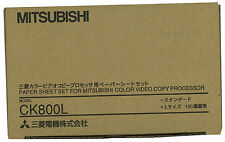 Mitsubishi CK800L Color 3 Panel Roll and Ink Ribbon for CP-800UM Printers