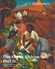 BONHAMS SOUTH AFRICAN ART Lock Pierneef Preller Sekoto Skotnes Stern Catalog 12