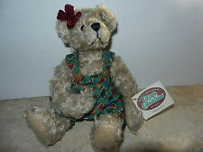 Ganz Cottage Collectibles Teddy Bear Ramona ~Christmas Version ~ Mary Holstad