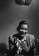 Herman LEONARD: Billie Holiday, NYC, 1949 / Silver Print / Printed 2004 / SIGNED