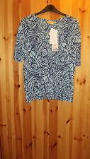 Adini 100% crincle viscose rayon crepe V neck short sleeve button front blouse