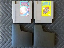 Nintendo (Nes) 2 Game Lot - Kirby's Adventure & Super Mario Bros. 3 With Sleeves