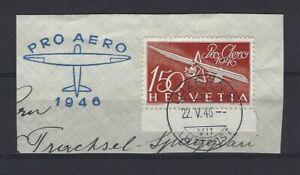 SUISSE SWITZERLAND Yvert Poste Aérienne n° 40 oblitéré