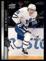 2020-21 UD Series 1 French #167 Alex Kerfoot - Toronto Maple Leafs