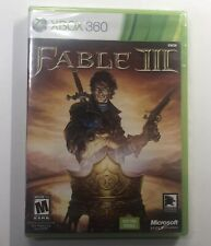 Fable III 3 - Microsoft Xbox 360 - BRAND NEW - Factory Sealed