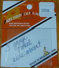 Precision Scale HO #3288 (3 Gauge Panel Side Mount) (Brass Casting)